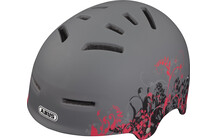 ABUS Aven-U Helm asphalt flowers